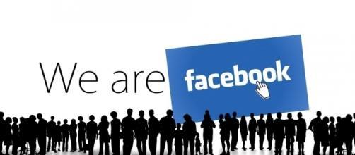 Imagen publicitaria de la red social Facebook