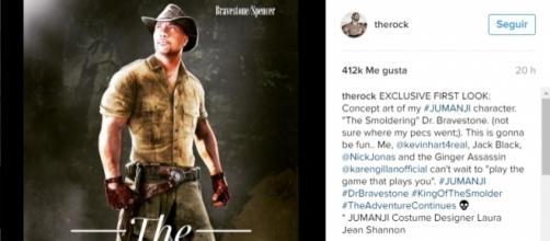 Imagen que el actor ha compartido en su Instagram.