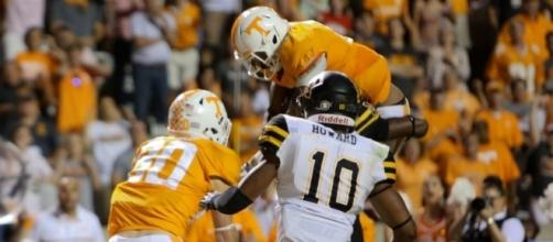 Tennessee vs Appalachian State Game stats and recap Photo compliments of - Newsclip®: - newsclip.com