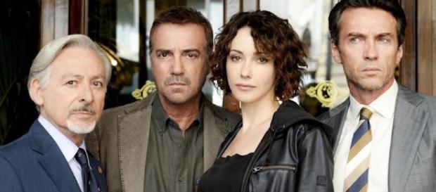 Catturandi: il cast della serie di Rai 1 con Anita Caprioli.