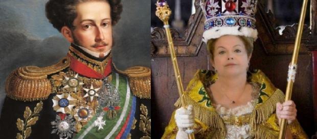 Família real processa Dilma Rousseff