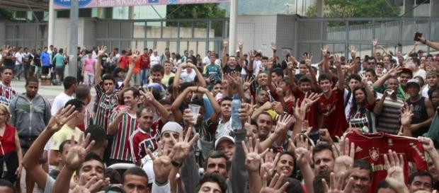 Fluminense espera presença maciça da torcida contra o Figueirense (Foto: Jornal O Globo)