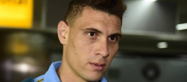 Moisés, meio-campista do Palmeiras