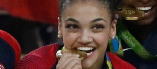 Olympic gold medalist Laurie Hernandez is the preseason favorite to win 'DWTS' 2016, per Bovada Sports. Agência Brasil Fotografias/Wikimedia Commons