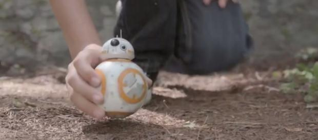 The age of technology is sure to also deliver epic Star wars merchandise/ Credit: Youtube - Star Wars Force Band by Sphero - Brookstone Inc