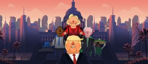 Jrump, Donald Trump diventa un videogioco.