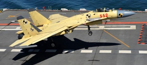 China Started Mass Production of J-15 Fighters For Its Navy ... - asian-defence.net