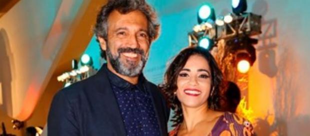 Esposa de ator morto se entende com a Globo