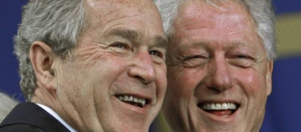 George W. Bush, Bill Clinton discuss campaign surrogacy ... - politico.com