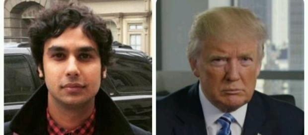 Kunal Nayyar has concern about Donald Trump / Photo via Twitter
