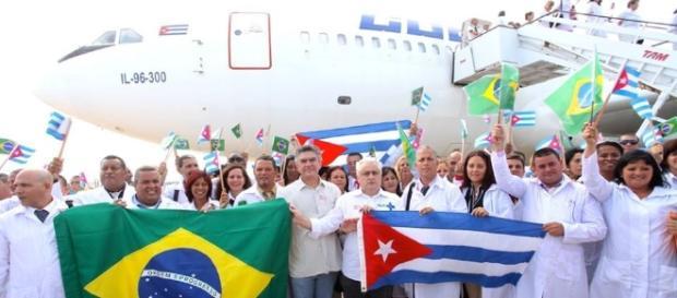 Médicos cubanos do Mais Médicos.