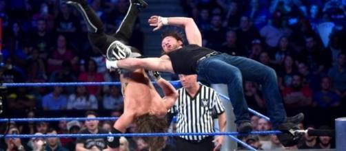 Dean Ambrose vs. A.J. Styles for WWE world title / Photo screencap via WWE