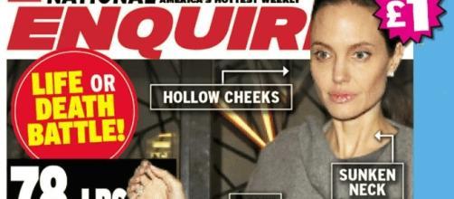 En mai dernier, le National Enquirer s'inquiétait de la santé d'Angelina Jolie qui n'aurait plus pesé que... 40 kg