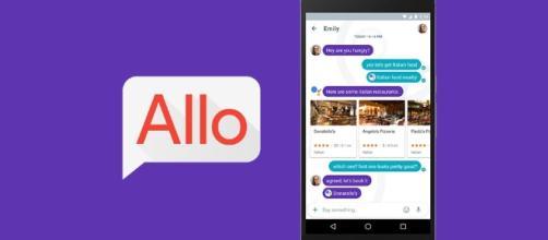 Google Allo, il nuovo servizio di messaggeria istantanea di Google