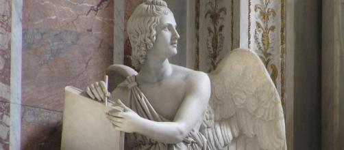 Particolare della tomba di Papa Pio VII a S. Pietro a Roma, opera di Bertel Thorvaldsen, 1830 ca.