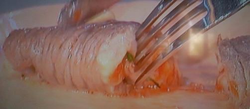 Saccottini di manzo ripieni di pomodorini e bufala