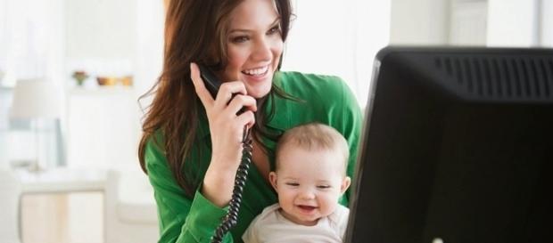Dicas para as mamães voltarem ao trabalho. Foto: Reprodução Samnebo.