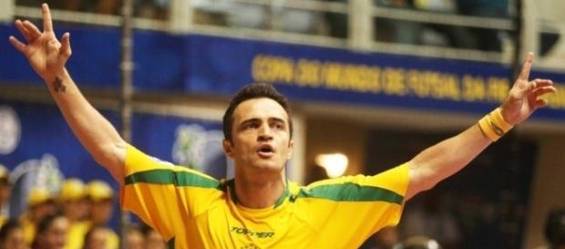 Falcão é a grande estrela da seleção brasileira
