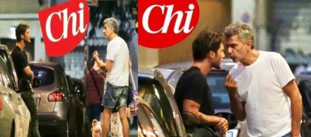 Gossip: lite per strada tra Stefano De Martino ed il padre di Belen Rodriguez.