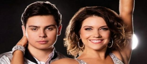 Jake T. Austin and Jenna Johnson. Photo via ABC Television Network screencap