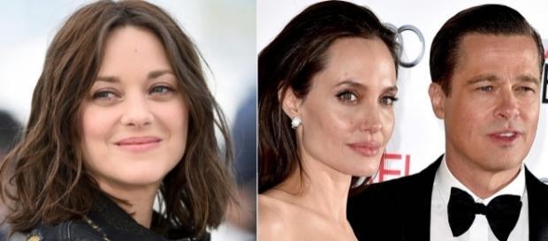 Marion Cotillard, Angelina Jolie e Brad Pitt.