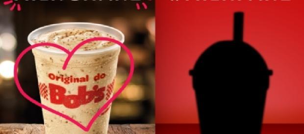Promoção do milkshake bomba na web
