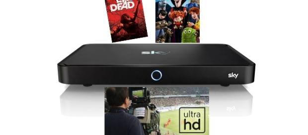 Sky startet mit UHD-Sendungen und einem neuen Receiver für die Kunden