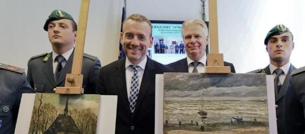 The Day - UPDATED: Two Van Gogh paintings recovered by Italian ... - theday.com