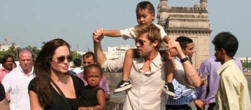 Angelina Jolie, Brad Pitt Divorce: Kids In Danger? Police Surround ... - inquisitr.com