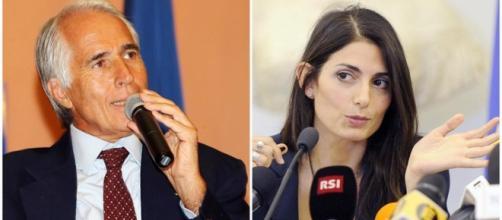 Euro 2020, Malagò fa il baciamano al sindaco Raggi.