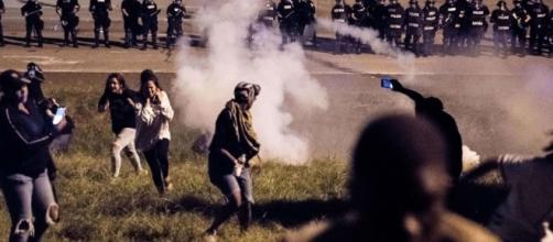 La mort d'un Afro-américain à Charlotte