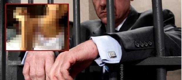 Advogado preso acusado de violentar sexualmente crianças.