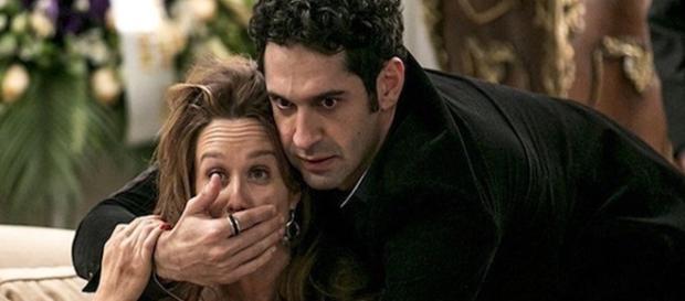 Beto e Tamara brigam por causa de Apolo e Tancinha