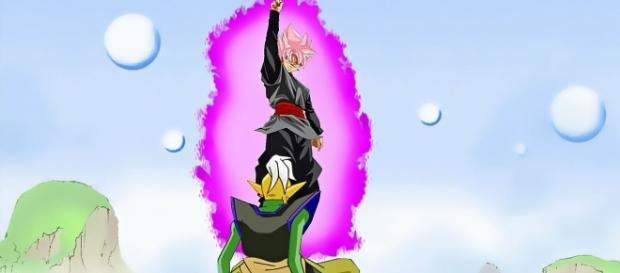 Black exterminando el kaioshin del universo 2