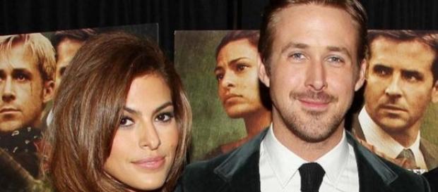 Eva Mendes e il compagno Ryan Gosling