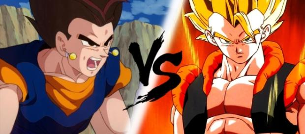 FUSION Y DANZA DRAGON BALL SUPER