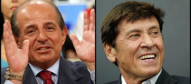 Gianni Morandi e Giancarlo Magalli hanno sancito la pace attraverso una foto