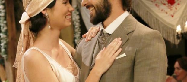 Il Segreto anticipazioni: foto del matrimonio tra Maria e Gonzalo - daringtodo.com