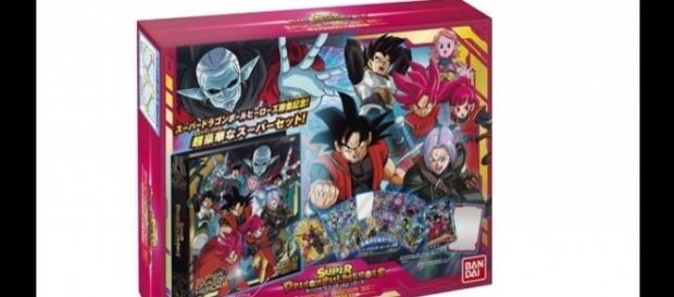 Picture of the box of Dragon Ball Heroes showing the new character (YouTube)