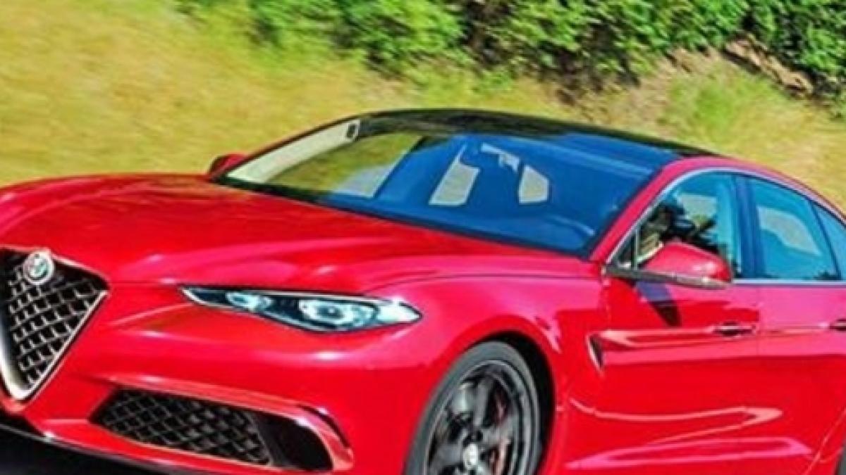 Alfa Romeo Alfetta 2018 Un Nuovo Rendering Dal Web