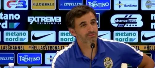 Fabio Pecchia, allenatore Hellas Verona