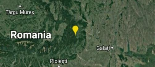 Forte scossa di terremoto in Romania.