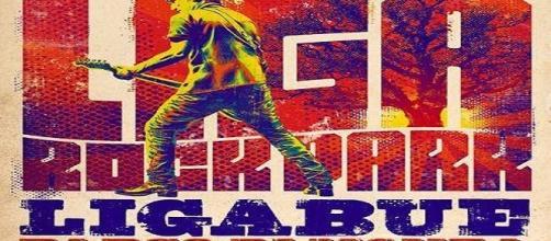 La locandina del concerto di Ligabue a Monza il 24 e 25 settembre