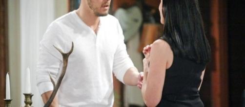 Quinn rapisce Liam per amore e per far si che Wyatt sposi Steffy.