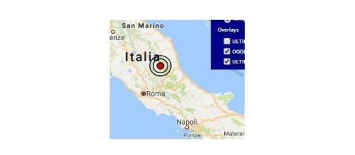 Scossa di terremoto in Calabria: 23 settembre 2016
