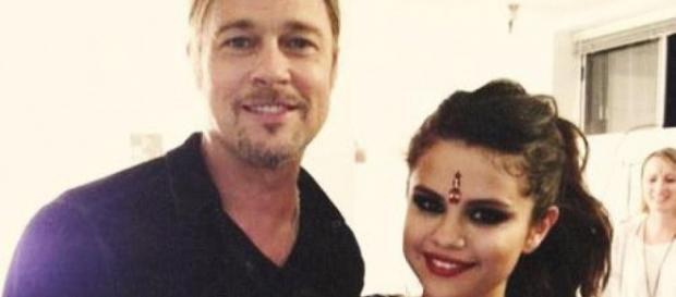 Cantora teen é amiga de Brad Pitt
