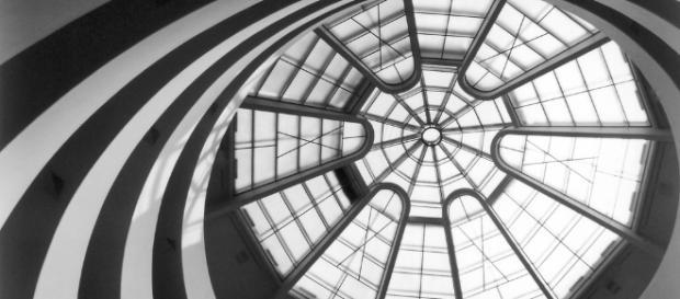 Guggenheim, gli interni del museo.