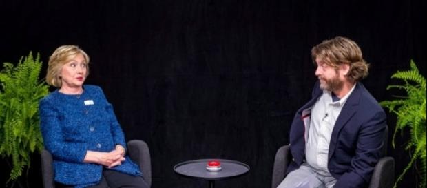 Hillary Clinton sits down with Zach Galifianakis for 'Between Two ...Photo: Blasting News Library - businessinsider.com