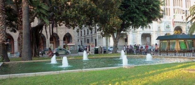 Piazza Matteotti, famosa piazza di Cagliari