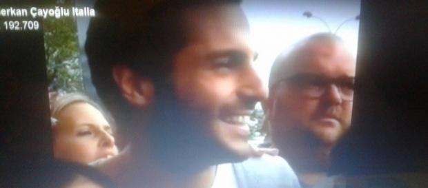 Serkan/Ayaz all'arrivo a Milano